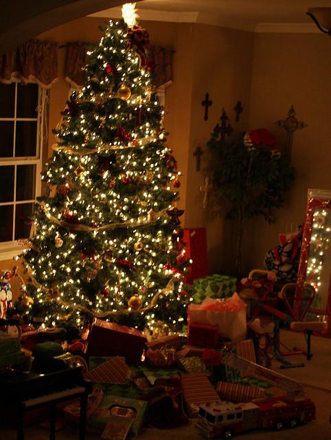 before christmas destruction