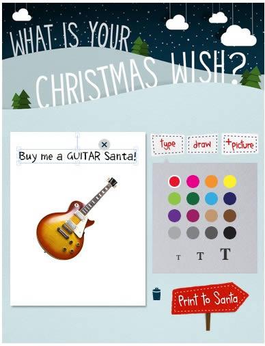 christmas app by pixma