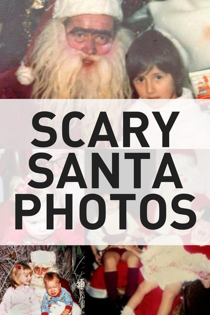 Scary Santa Photos