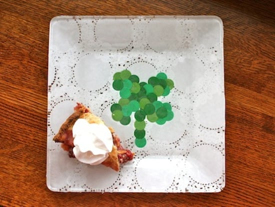 st patrick's day plate diy