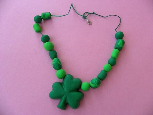 st patricks day necklace