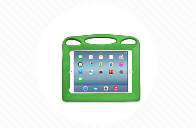 big grips green ipad case for kids