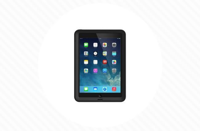 Black Griffin Survivor iPad Case for kids
