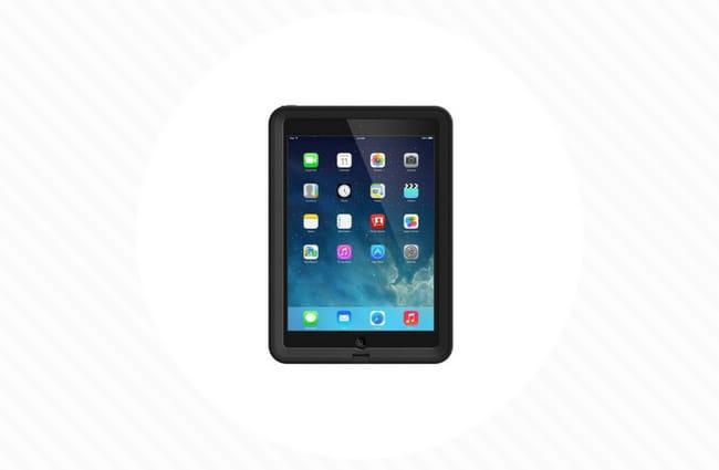 black ipad case waterproof lifeproof