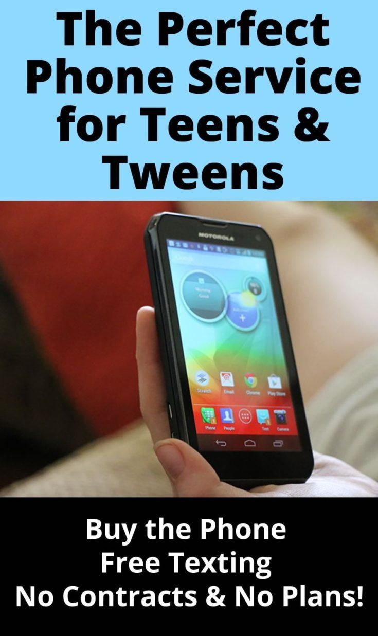 free-texting-tween-phone