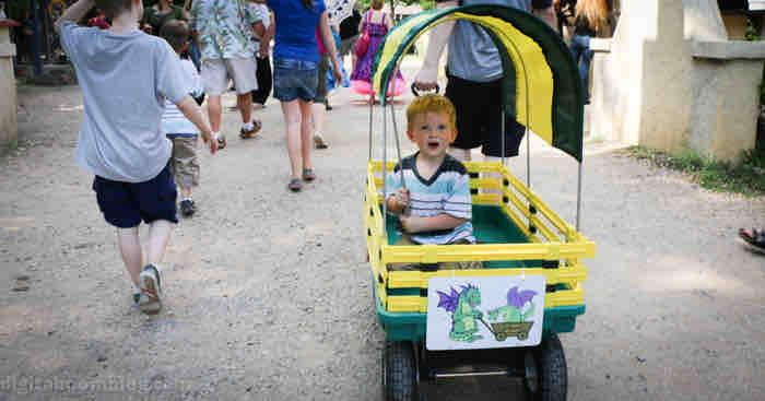 scarborough faire wagon rental