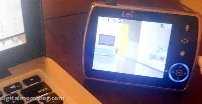 video baby monitor levana