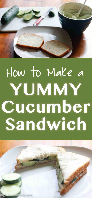 Cucumber Sandwich Recipe - Perfect Cooler Recipe
