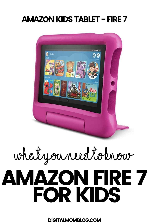 amazon fire 7 kids tablet
