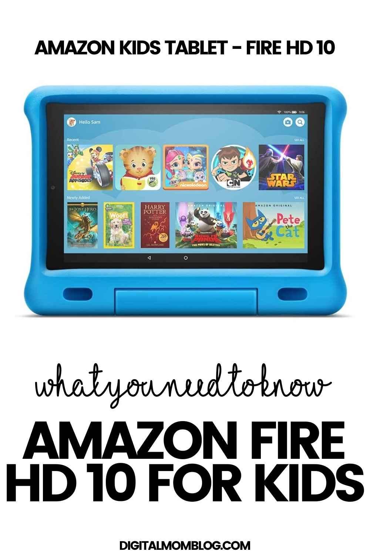 amazon kids tablet fire 10
