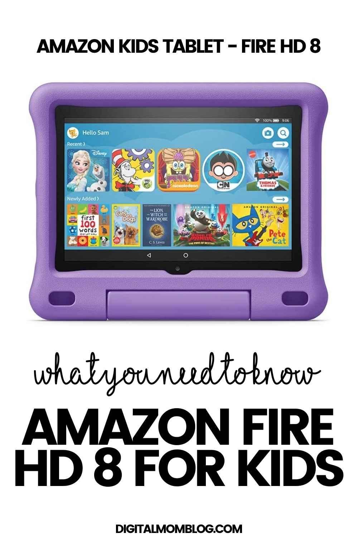 amazon kids tablets fire 8 hd