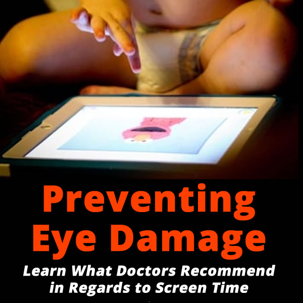 What you need to know about screen time and eye damage