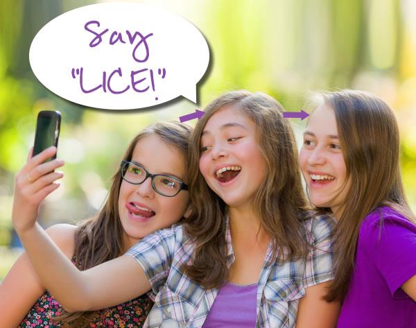 teens lice spreading thru selfies