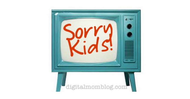 Sorry Kids - No Screens in the Bedroom