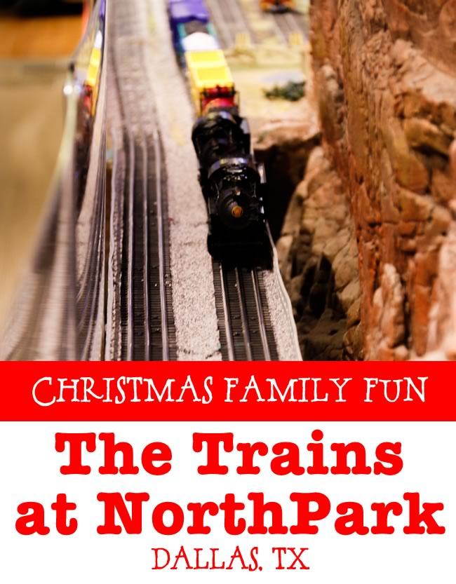 Christmas Family Fun Trains at NorthPark Dallas, TX