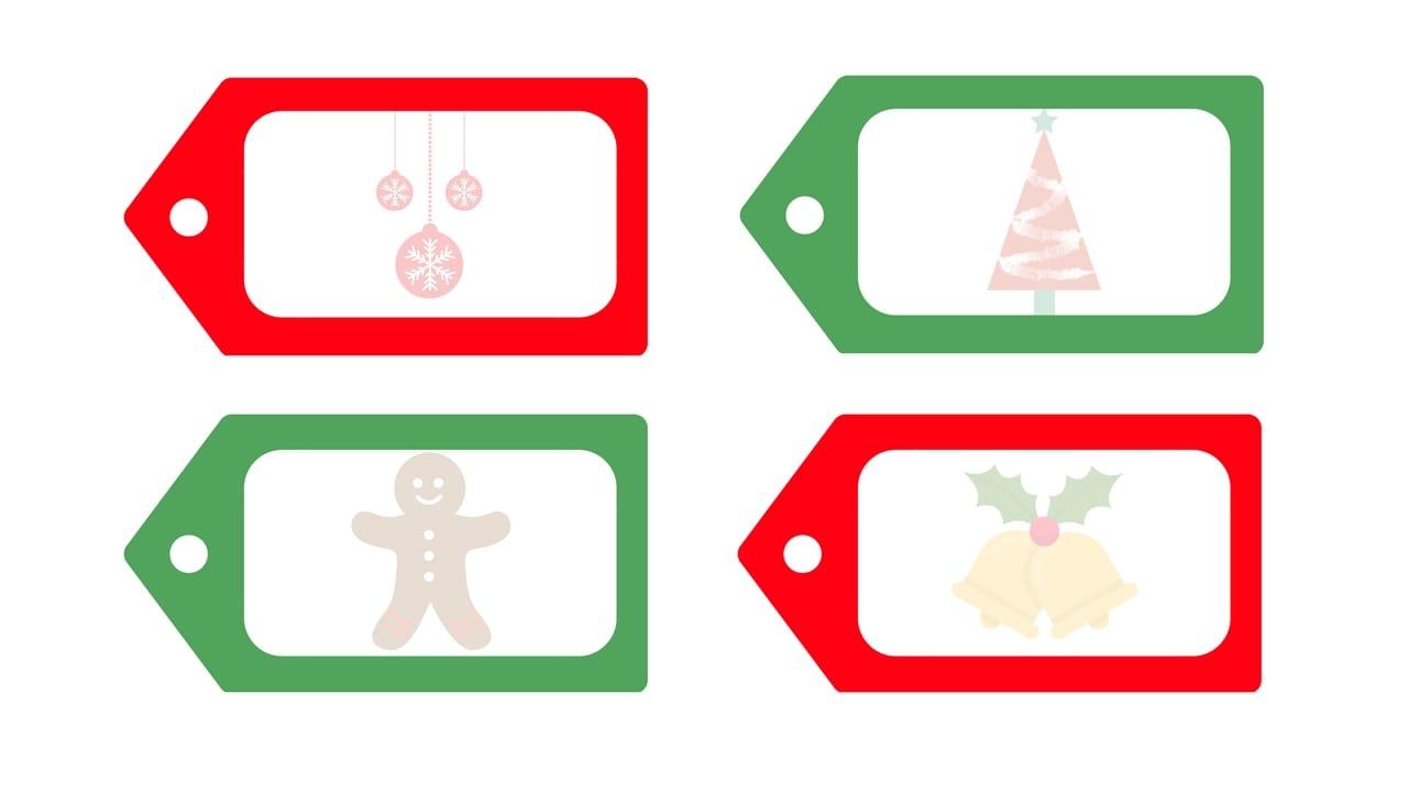Printable Christmas Tags.Free Printable Christmas Gift Tags That You Can Personalize