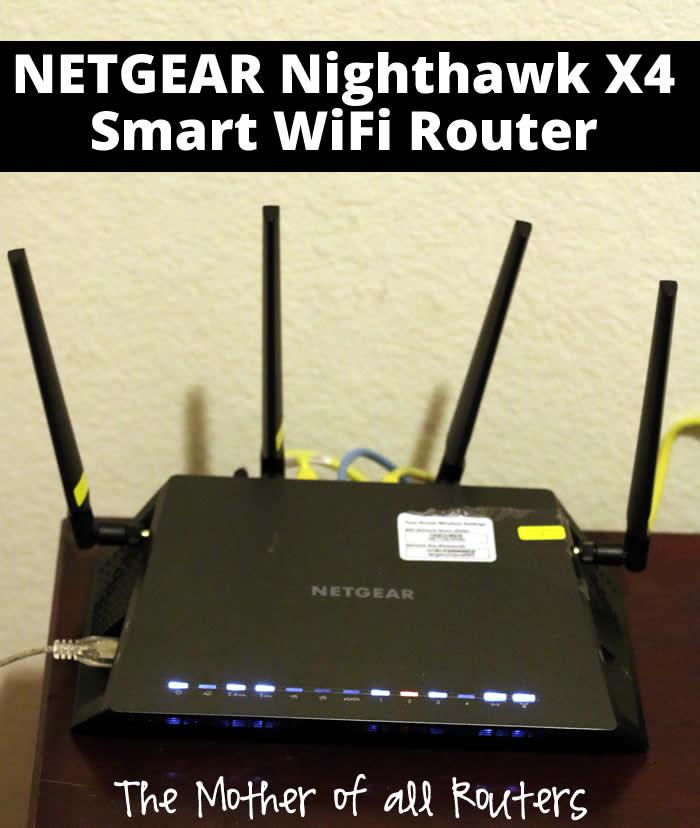 netgear nighthawk x4 router