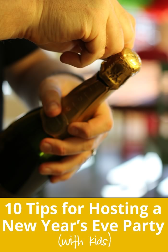 Tips for Hosting a New Year's Eve Party With Kids