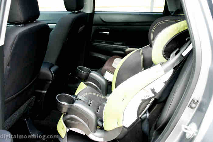 seating in the Mitsubishi Outlander Sport