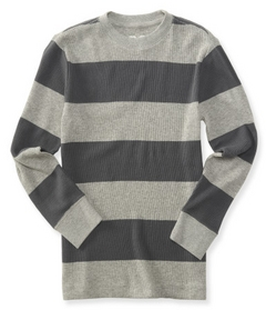 striped thermal tee ps from aero