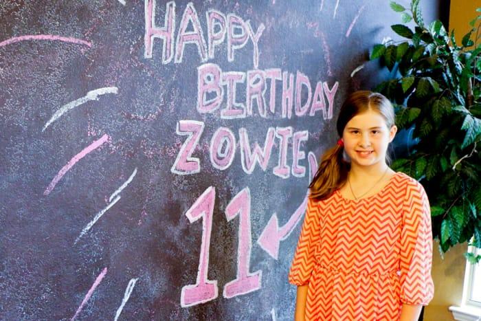 birthday photo z