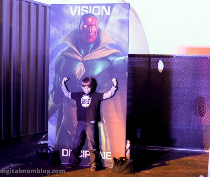 marvel comics vision superhero