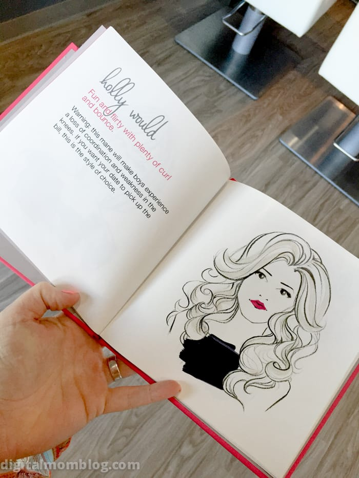 Good Mom Hair - LOVE the Holly Would style at the blo blow dry bar