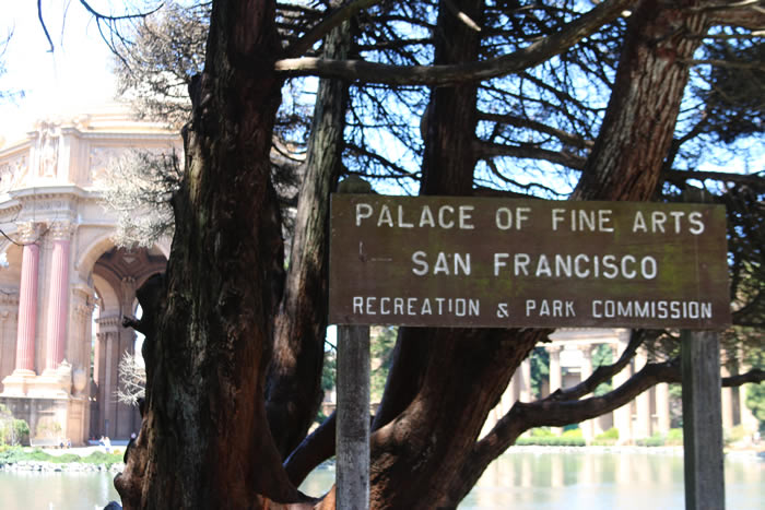 Palace of Fine Arts San Francisco, California