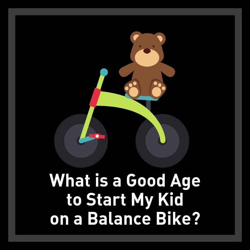 what age to start kid on balance bike