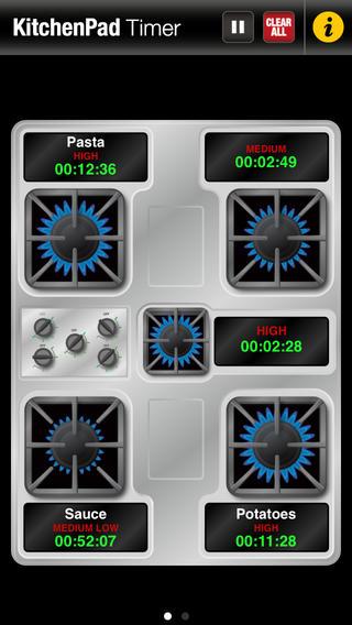 kitchen timer - Thanksgiving Dinner Apps