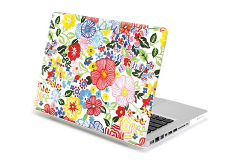floral macbook pro case