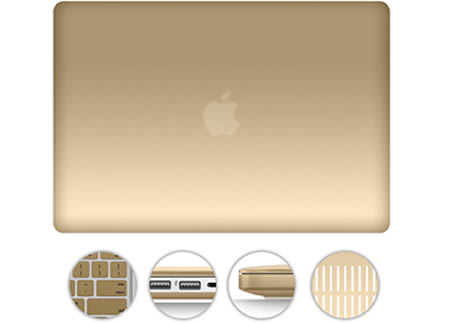 gold macbook pro case 13