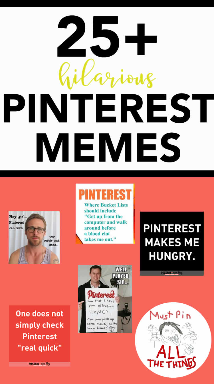 Pinterest memes and graphics