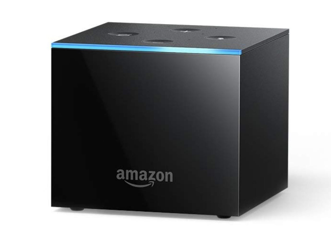 Amazon Fire TV Cube for your patio features alexa and echo technology
