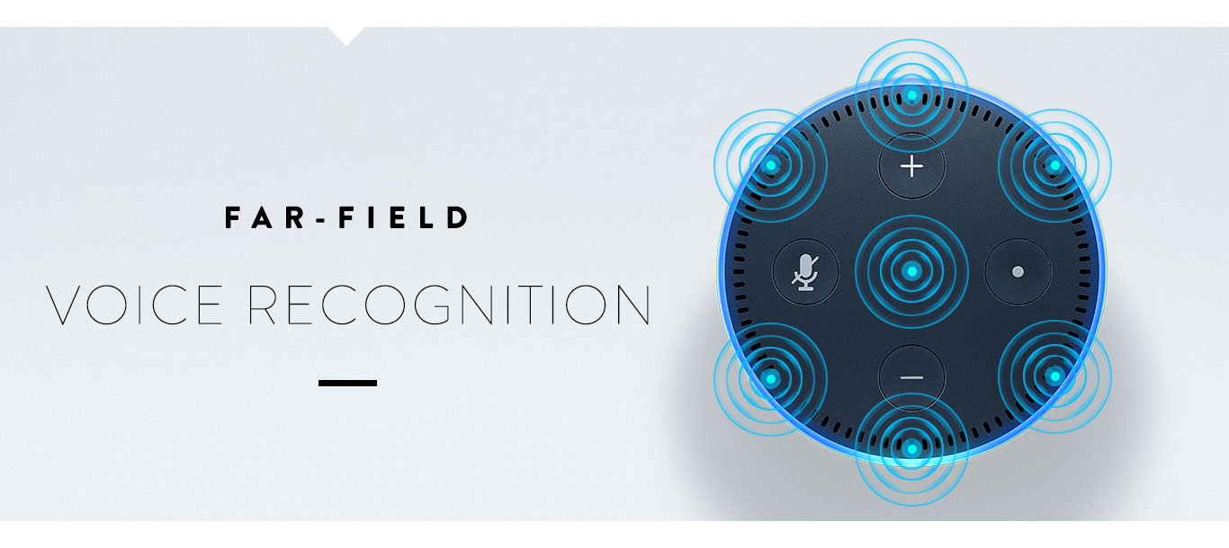 Amazon Echo Dot Farfield Recognition