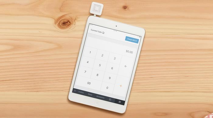 square app on ipad