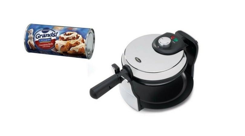 cinnamon roll waffle recipe