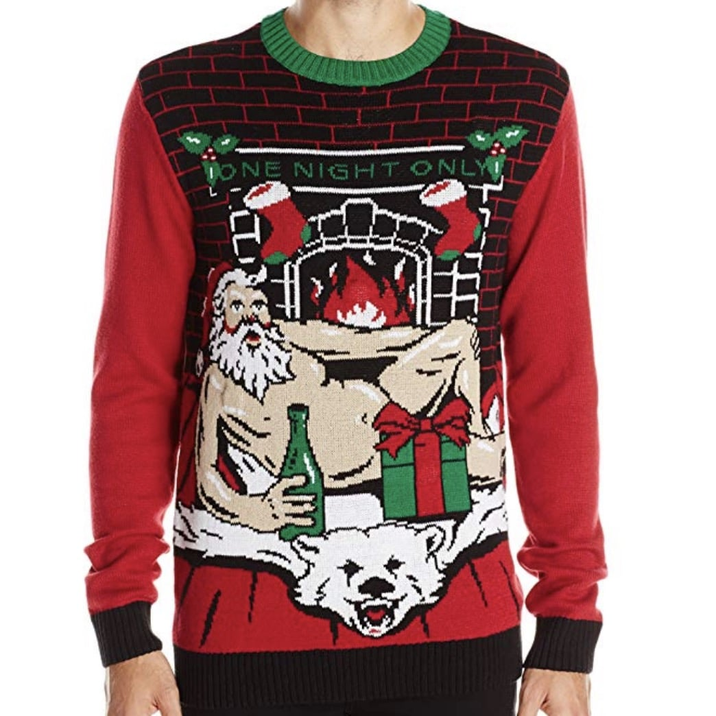 Dirty Santa Light Up Sweater