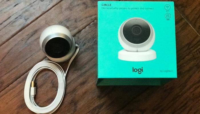 logitech circle security camera