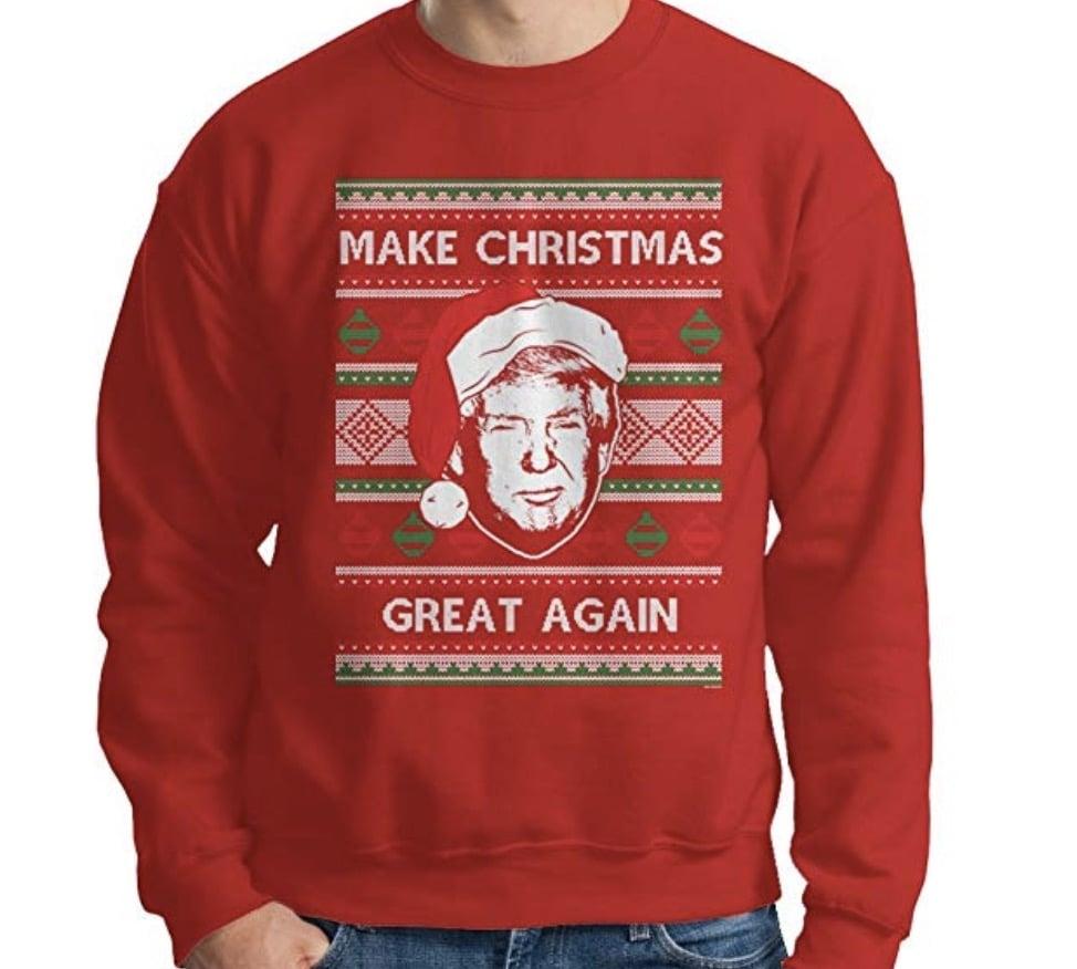 MAGA Christmas sweater