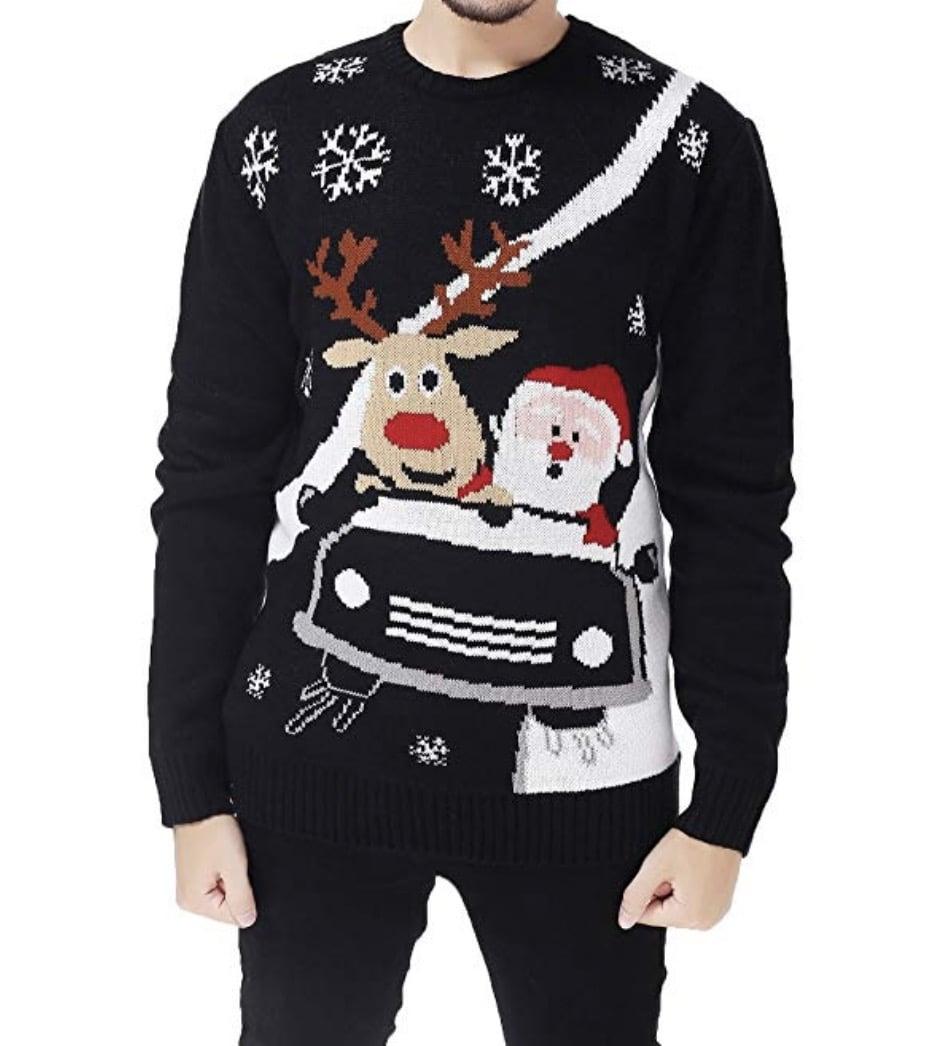 santa tacky christmas sweater