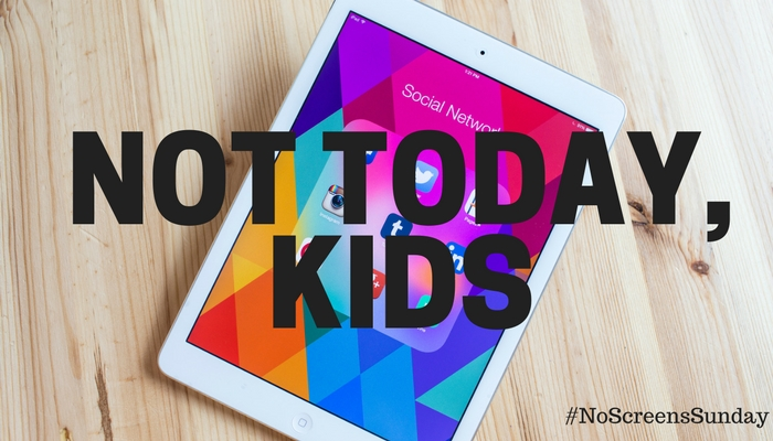 No Screens Sunday - Our New Parenting Hack To Limiting Screen Time