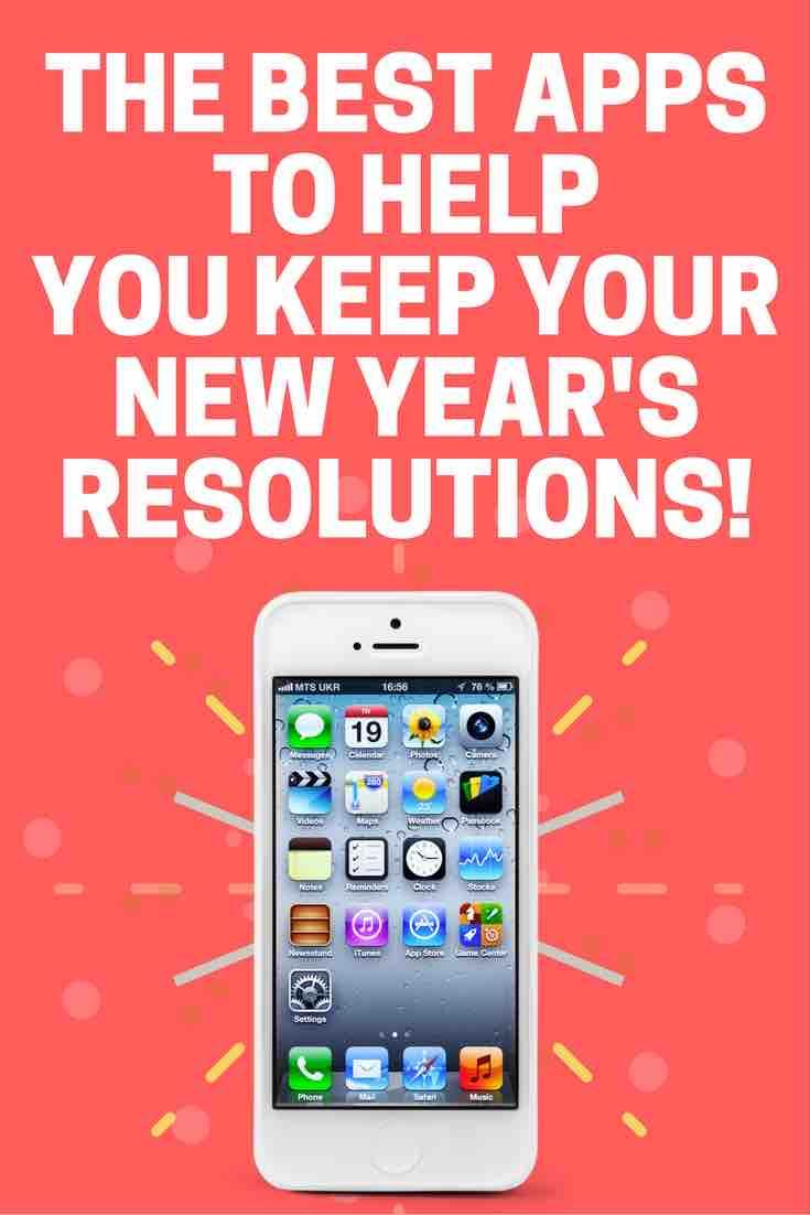 New Year's Resolutions apps