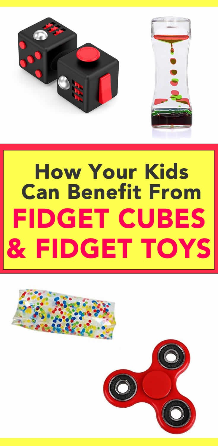 How your kids can benefit from fidget cubes
