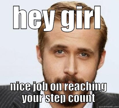 Ryan Gossling Fitbit Meme encouragement