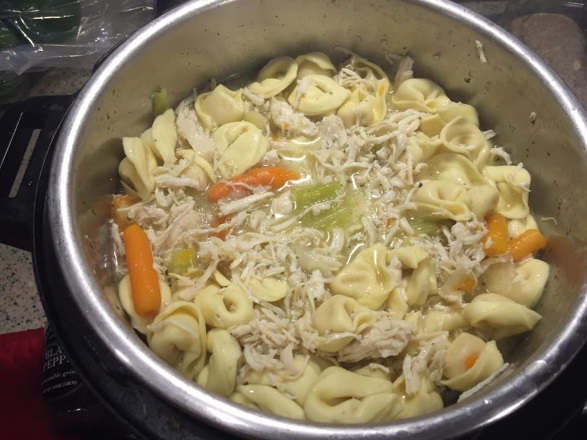 Chicken Tortellini Soup Instant Pot Recipes