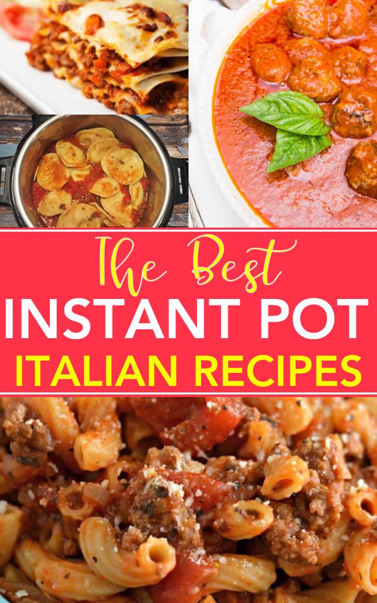 Best Italian Instant Pot Recipes