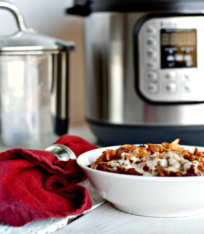 Meaty Italian Pasta Instant Pot Recipe