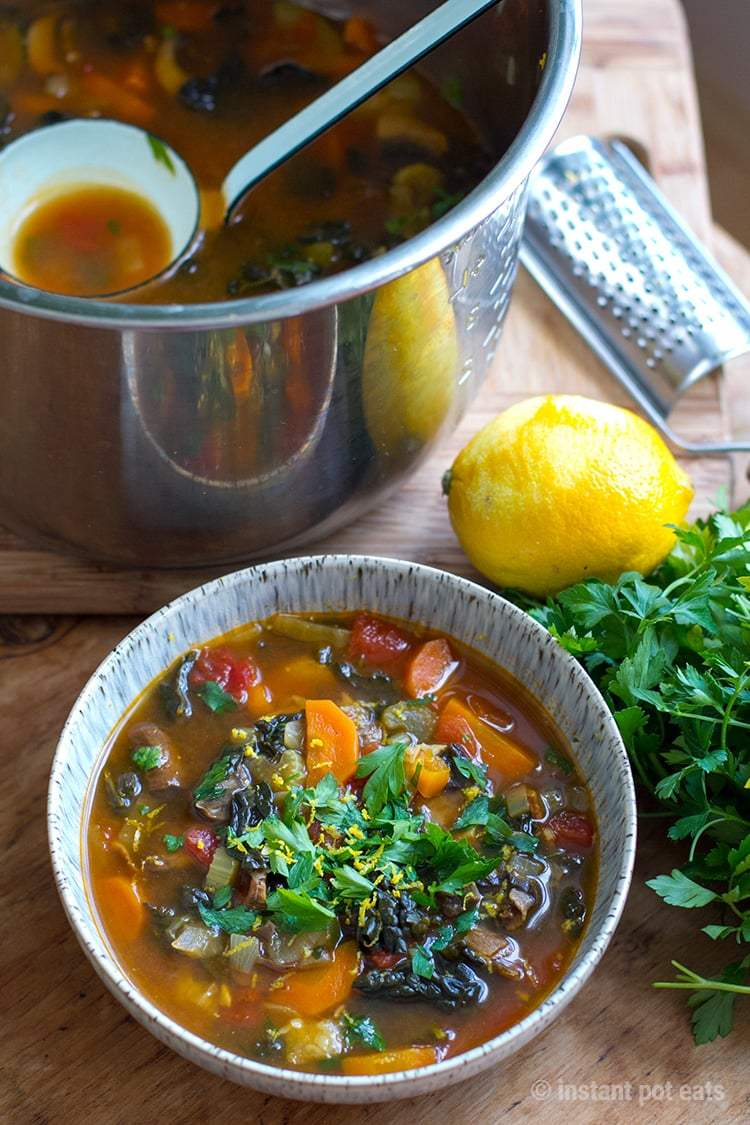 Instant Pot Italian Soup Recipes