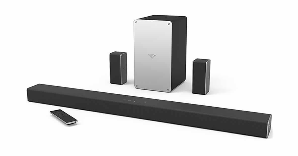 vizio sound system - last minute father's day gift ideas